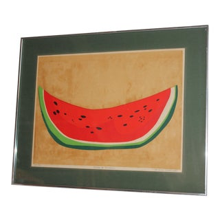 Watermelon Water Color Signed Jo Anne Rosendo