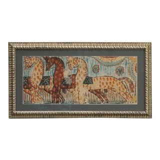 Bonad with Three Primitive Horses (#52-92)