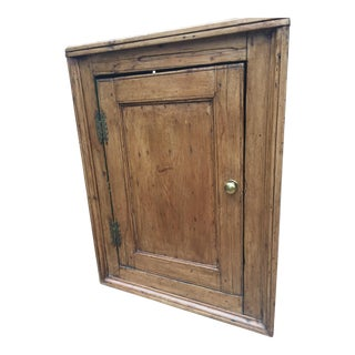 English Georgian Hanging Corner Cabinet