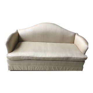 Silk & Down Camelback Sofa