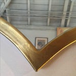 Image of Gold Quatrefoil Metal Mirror
