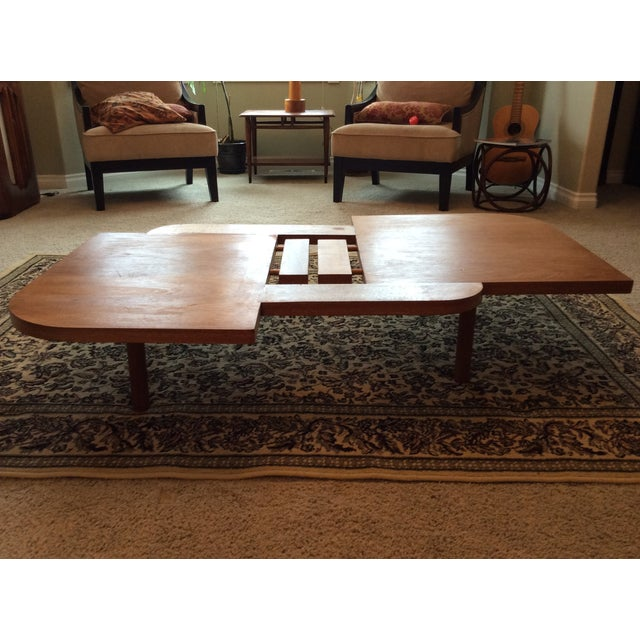 Vintage Danish Modern Low Coffee Table - Image 9 of 11