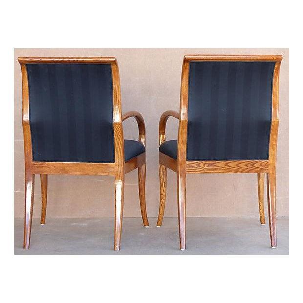 Henredon dining chairs w french polish set of chairish