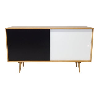 Paul Mccobb Planner Group Sliding Door Credenza