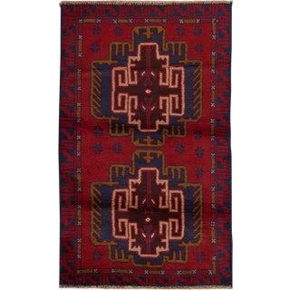 "Apadana - Vintage Persian Balouch Rug, 2'9"" x 4'7"""