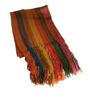 Vintage Boho Colorful Throw