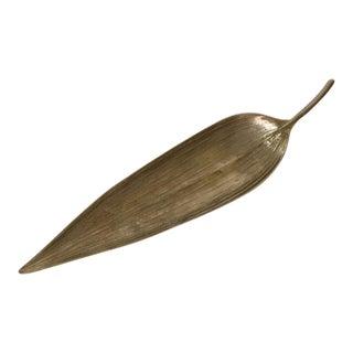 Michael Aram Silver Leaf Dish