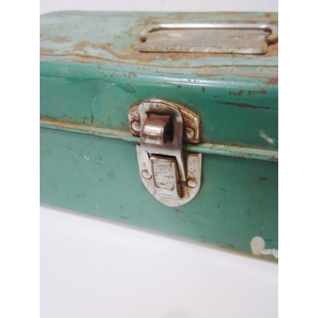 Green Liberty NY Metal Chest - Image 6 of 11