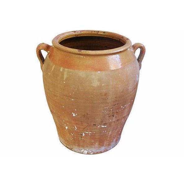 Jumbo Antique French Terracotta Confit Pot - Image 1 of 6