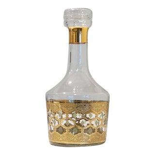 "Vintage Culver Gold ""Antigua"" Decanter"