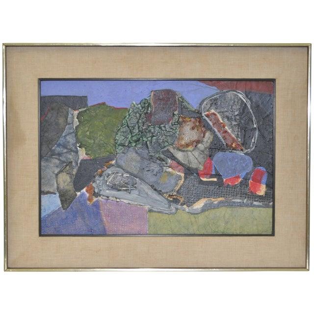 James Grant (1924–1997) Mixed Media Abstract 1963 - Image 1 of 6