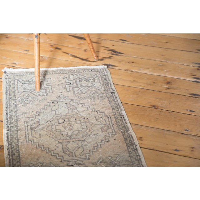 "Distressed Oushak Rug Mat - 1'8"" X 3'2"" - Image 5 of 7"