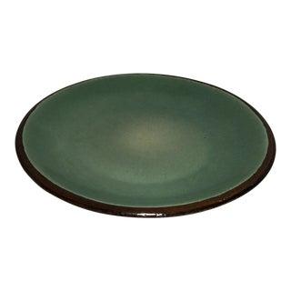 Mid-Century Glazed Dining Plate