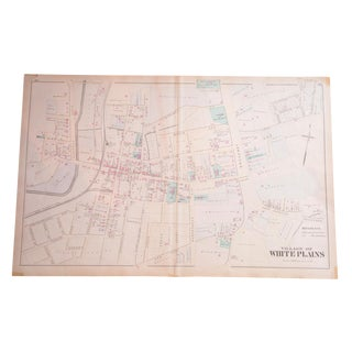 Antique Village of White Plains, NY Map