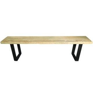 Croft House Reclaimed Wood Bench