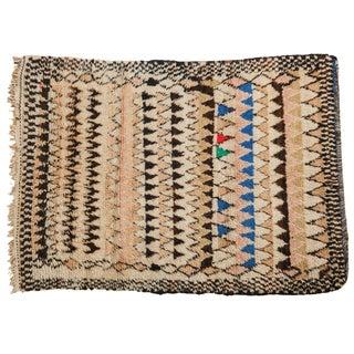 Vintage Moroccan Rug - 5′ × 6′10″