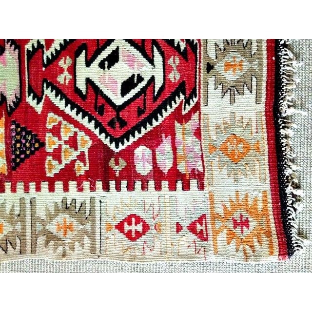 Geometric Navajo Rug 3 5 X 5 5 Chairish