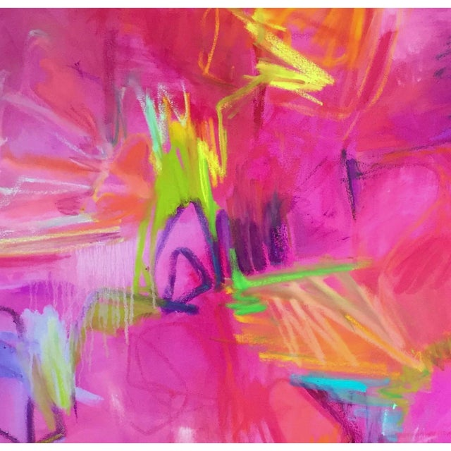 """""""Vegas"""" Large Abstract Painting by Trixie Pitts - Image 6 of 6"""