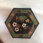 Image of 1950s Vintage Japanese Lacquer Style Box