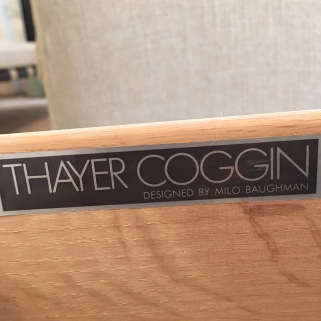 Image of Milo Baughman for Thayer Brass-Base Coffee Table