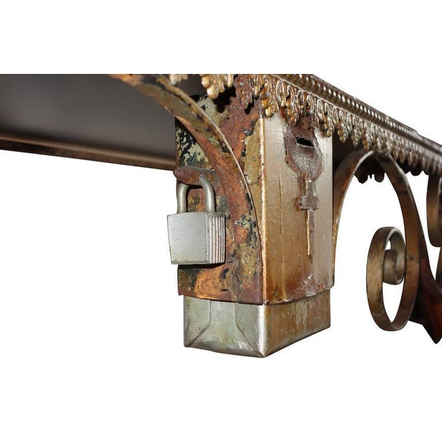 Wrought Iron Church Offerings Console - Image 7 of 7