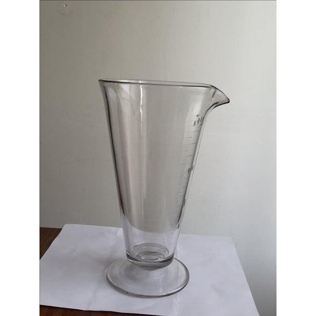 Image of Vintage Lab Glass Vase