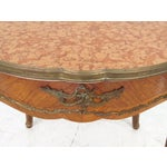 Image of Antique Louis XV Style Bronze Mounted Center Table