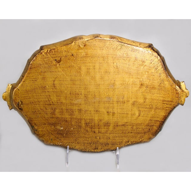 Italian Hand-Painted & Gilded Florentine Tray - Image 6 of 6