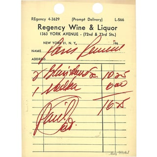 Andy Warhol-Paris Review-1967 Serigraph