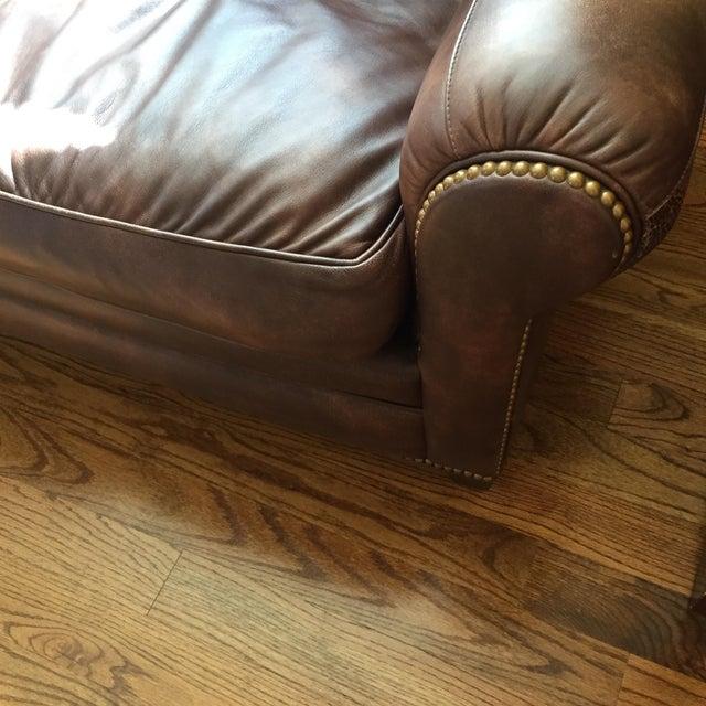 Hancock & Moore Leather Sofa - Image 3 of 6