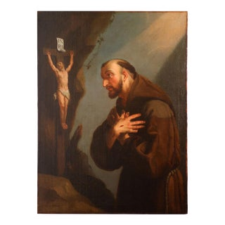 Oil Painting of St. Francis
