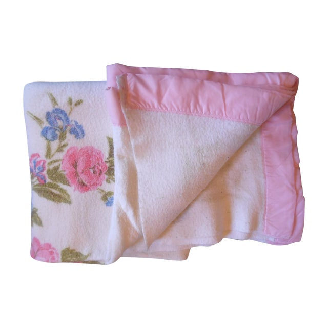Vintage Shabby Chic Blanket - Image 1 of 5