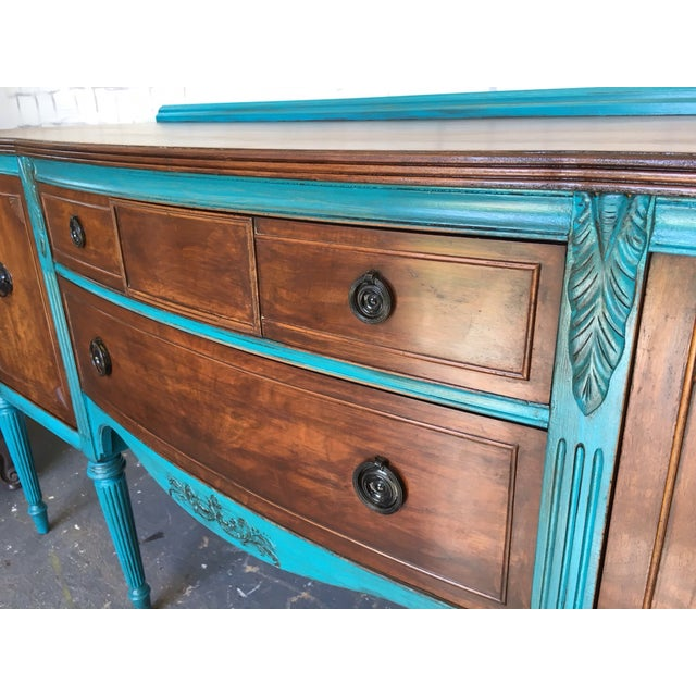 1900's European Antique Sideboard - Image 5 of 9