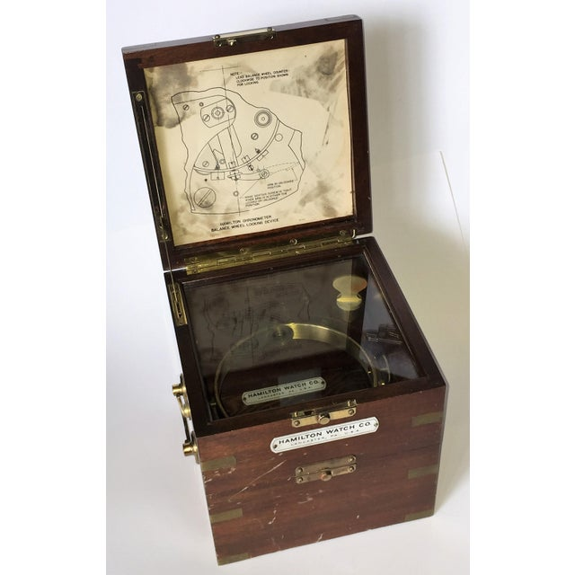 Vintage Marine Hamilton Chronometer Case - Image 2 of 9