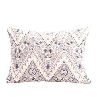 Handwoven Guatemalan Neutral Pillow