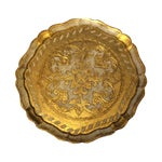 Image of Florentine Gold & Cream Wooden Tray