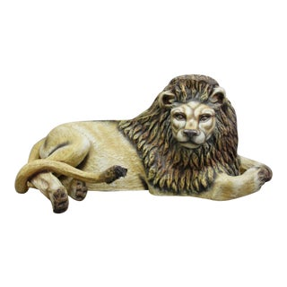 Lion by Sergio Bustamante 1975