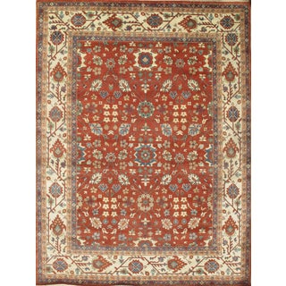 Pasargad N Y Mahal Design Hand-Knotted Rug - 8′10″ × 11′9″