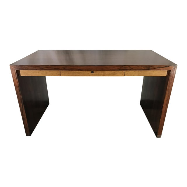 Ed Wormley Rosewood English Oak Desk - Image 1 of 11