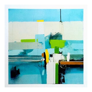 "Andrew Bird Modernist Abstract Expressionist Fine Art Print "" Spring Forward """
