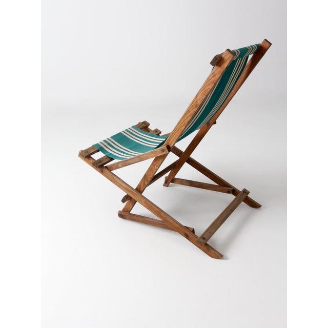 Vintage American Deck Chair - Image 5 of 9