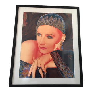 "Rupert Jasen Smith Greta Garbo "" Mata Hari"" Print"