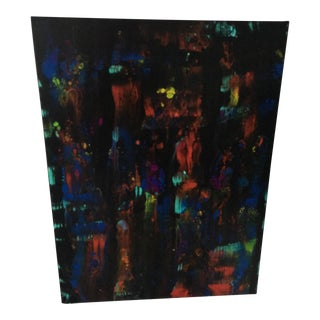 Abstract Painting on Canvas by Chris Heck