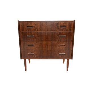 Danish Modern Rosewood Gentleman's Chest