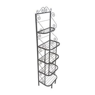Vintage Scrolled Baker's Rack