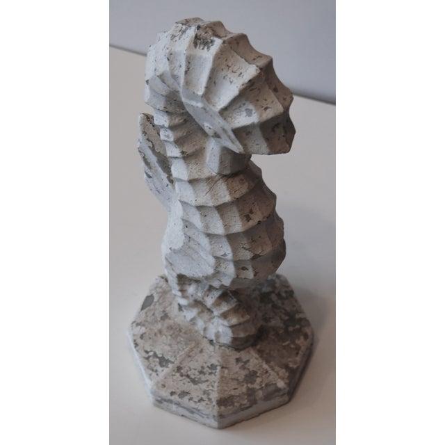Image of Mid-Century Concrete Seahorse