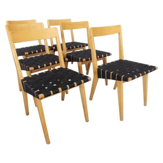 Jens Risom Side Chairs for Knoll - Set of 6