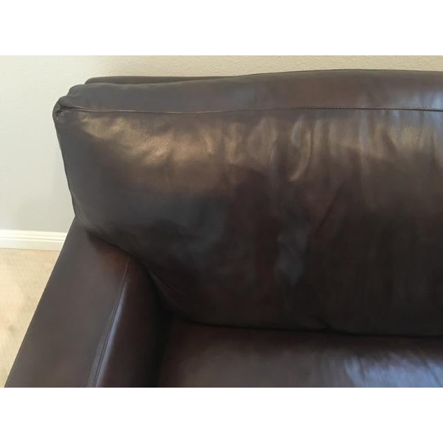 Crate & Barrel Axis II Leather Chair - Image 4 of 8