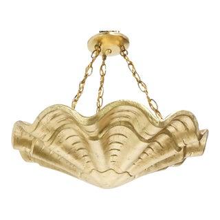 Gilded Shell Pendant
