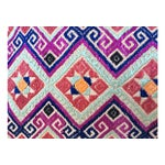 Image of Chinese Wedding Quilt Textile Pillow